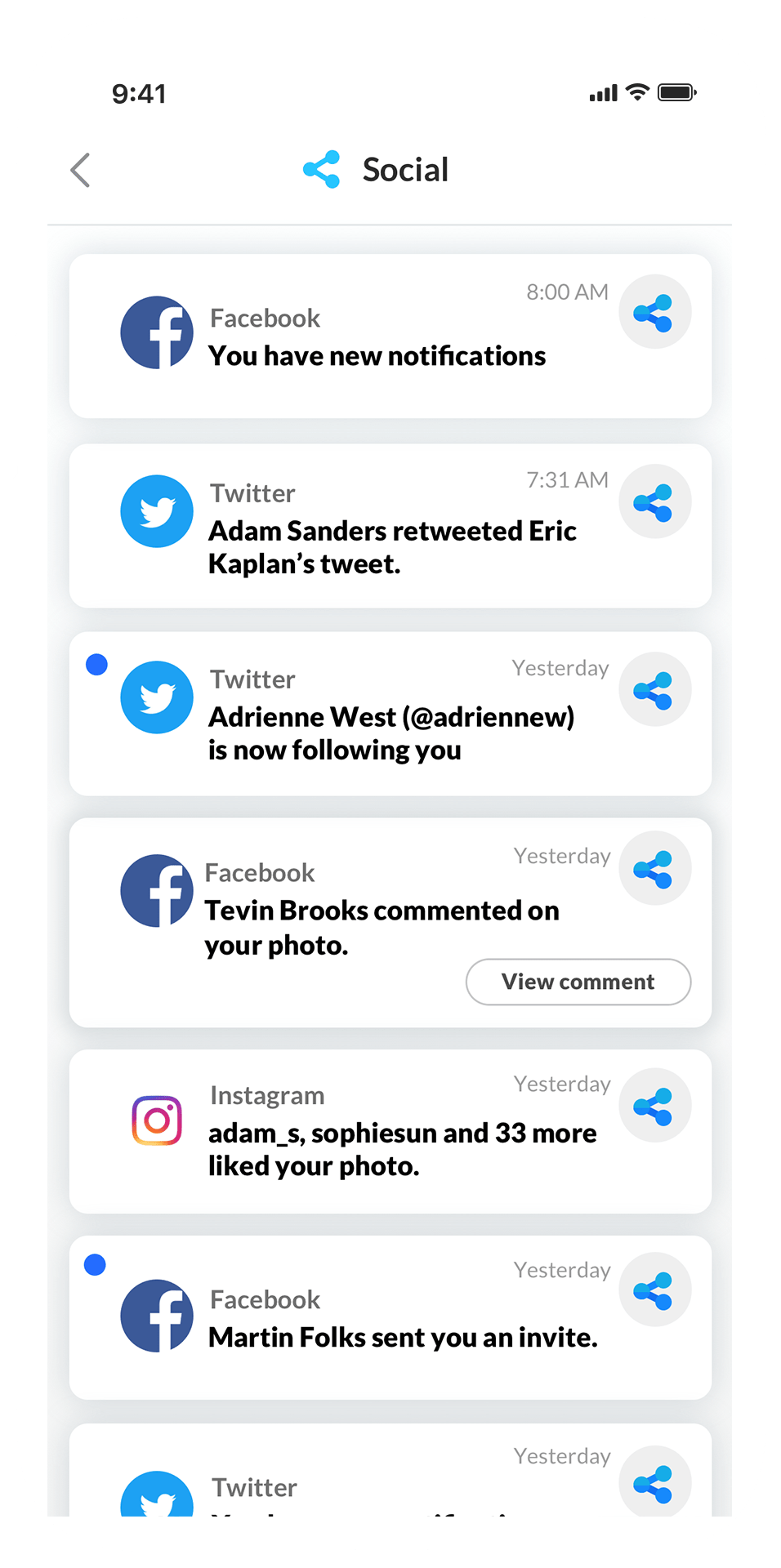 june.ai social feed